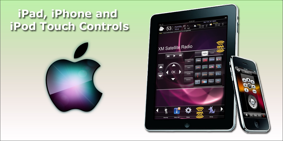 iPhone iPad - AMX Programmer and Crestron Programmer